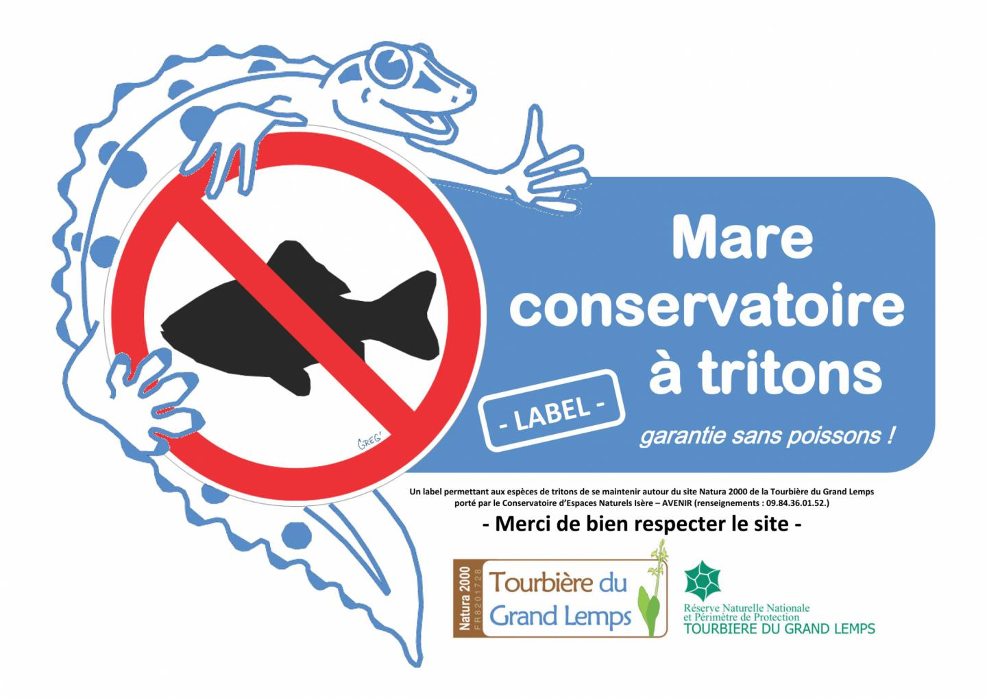 Mare tritons mare sans poissons la r serve for Mare a poisson